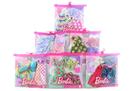 Barbie 2 ks oblečky GWF04