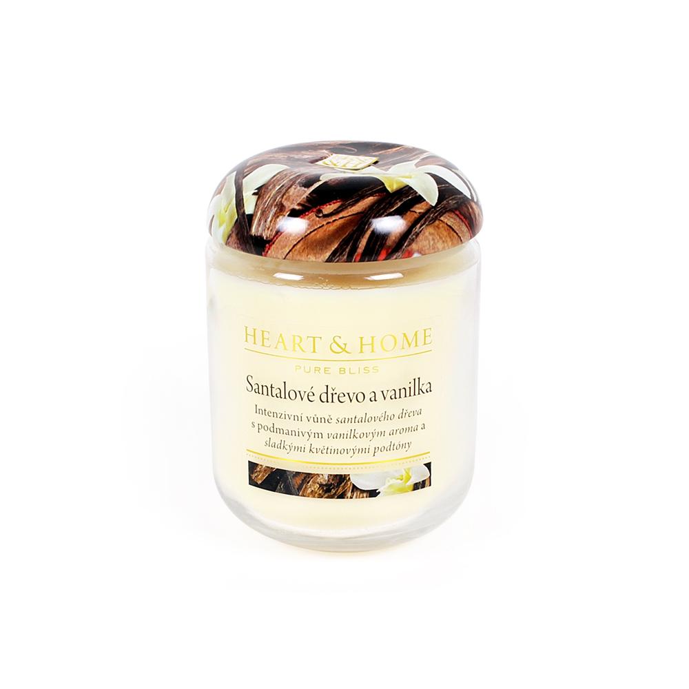 Střední svíčka - Santalové dřevo