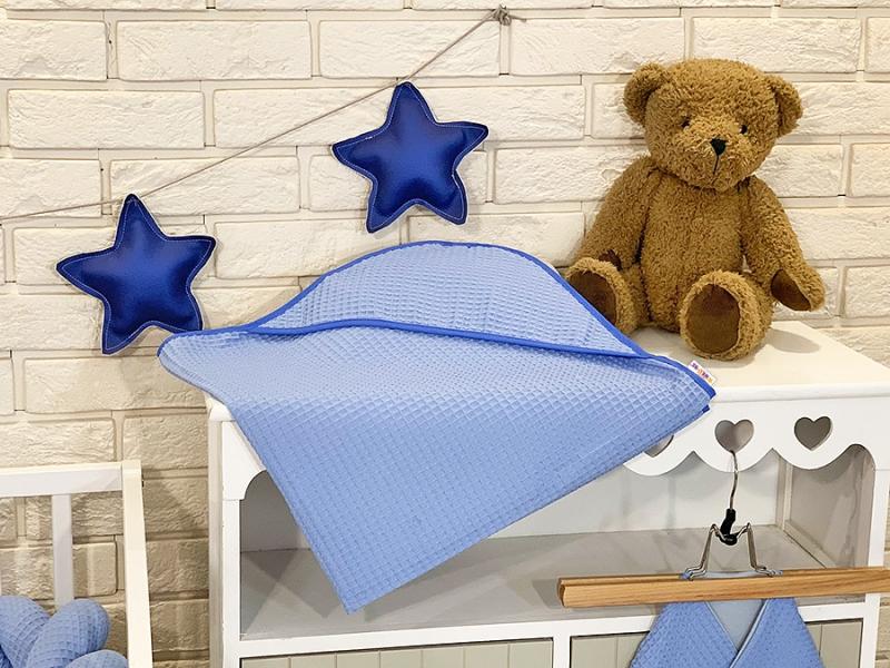 baby-nellys-osuska-s-kapuci-80-x-80-cm-vaflova-modra