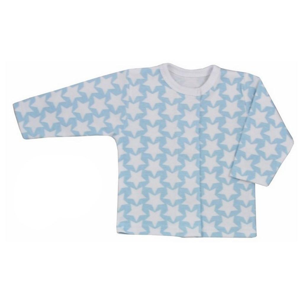 Kojenecký kabátek Koala Magnetky - s hvězdičkami - modrá/62 (3-6m)