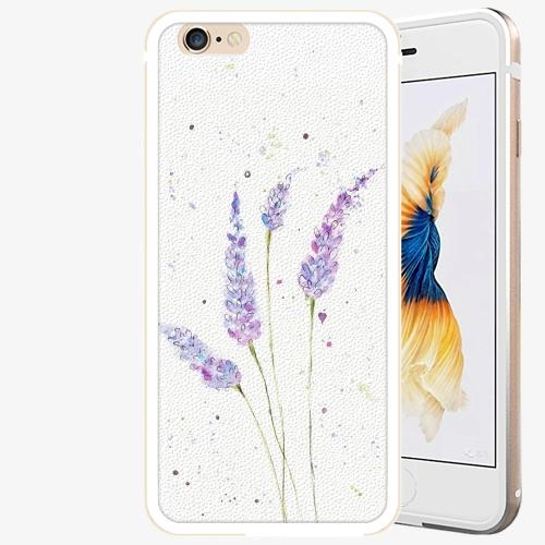Plastový kryt iSaprio - Lavender - iPhone 6/6S - Gold