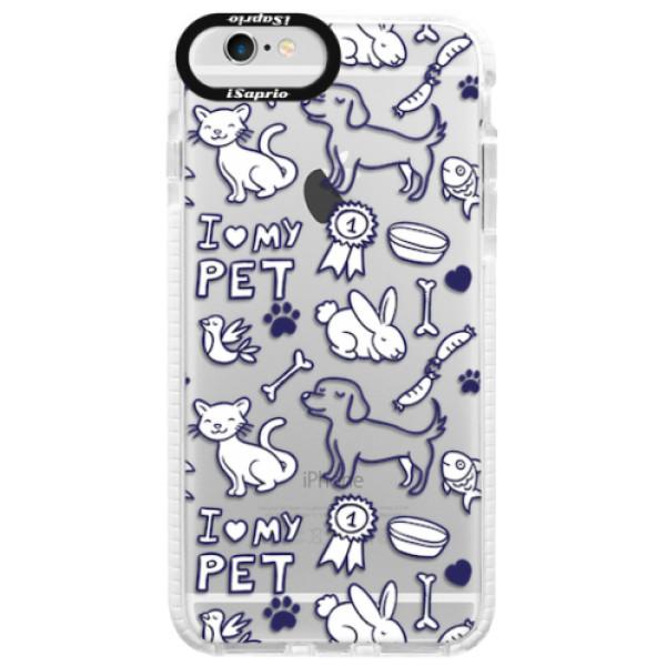 Silikonové pouzdro Bumper iSaprio - Love my pets - iPhone 6 Plus/6S Plus