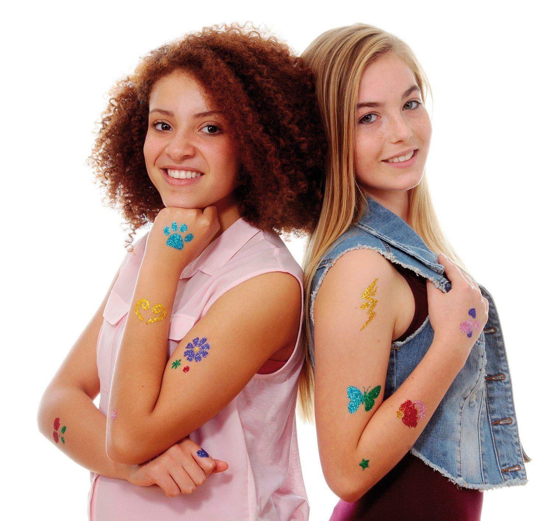 Třpytkové tetování