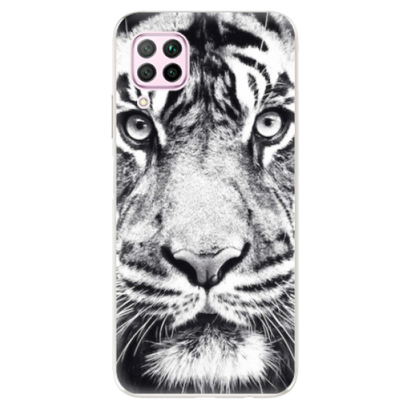 Odolné silikonové pouzdro iSaprio - Tiger Face - Huawei P40 Lite