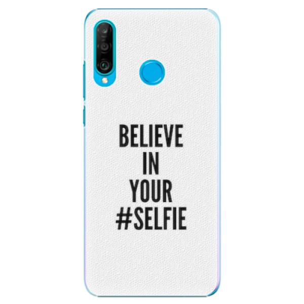 Plastové pouzdro iSaprio - Selfie - Huawei P30 Lite