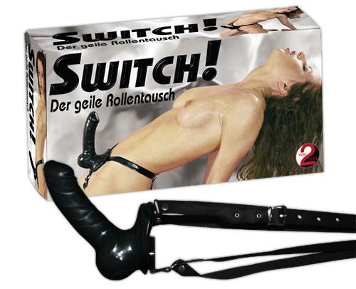 Připínací penis You2Toys Strap on Switch