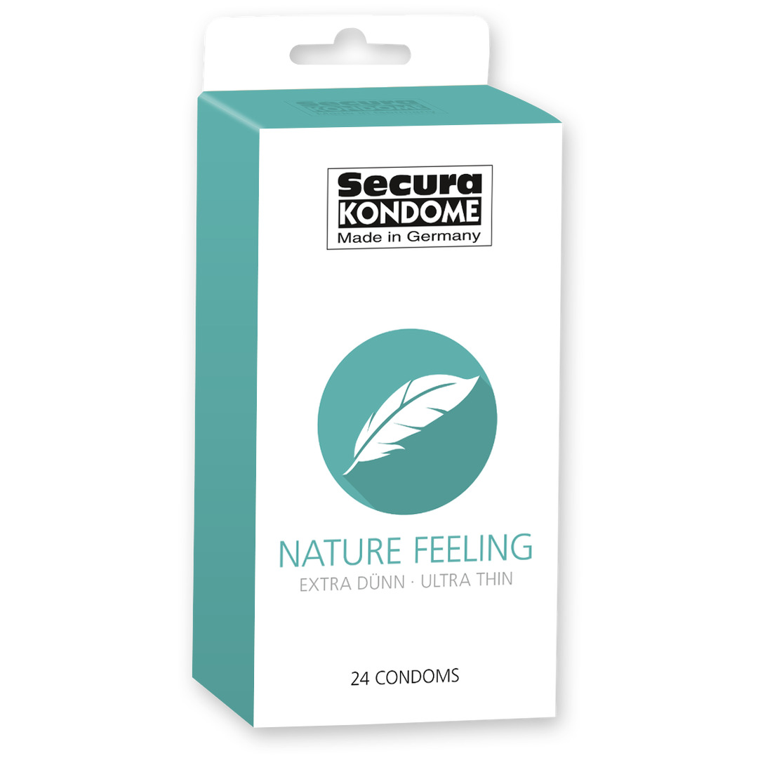 Kondomy Secura Nature Feeling 24 ks