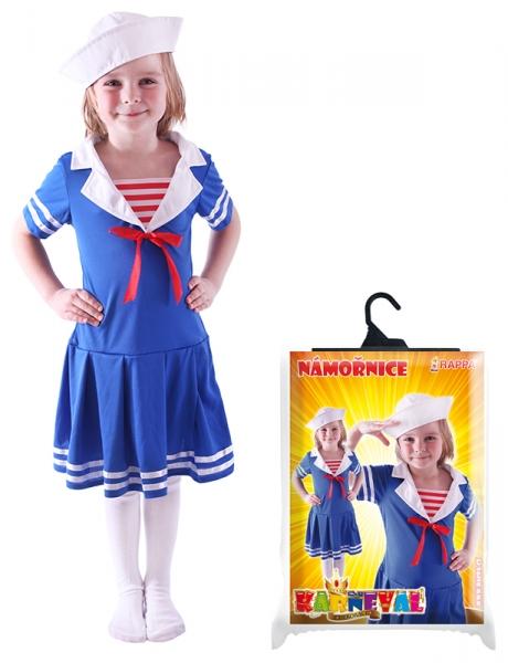Karnevalový kostým námořnice, vel. S