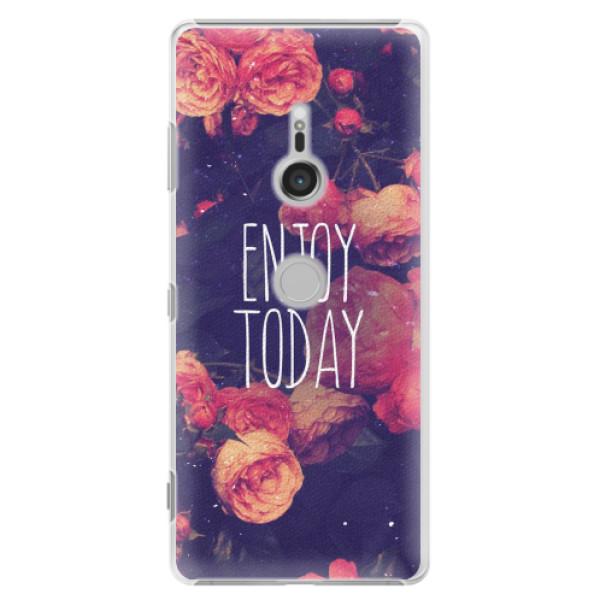 Plastové pouzdro iSaprio - Enjoy Today - Sony Xperia XZ3