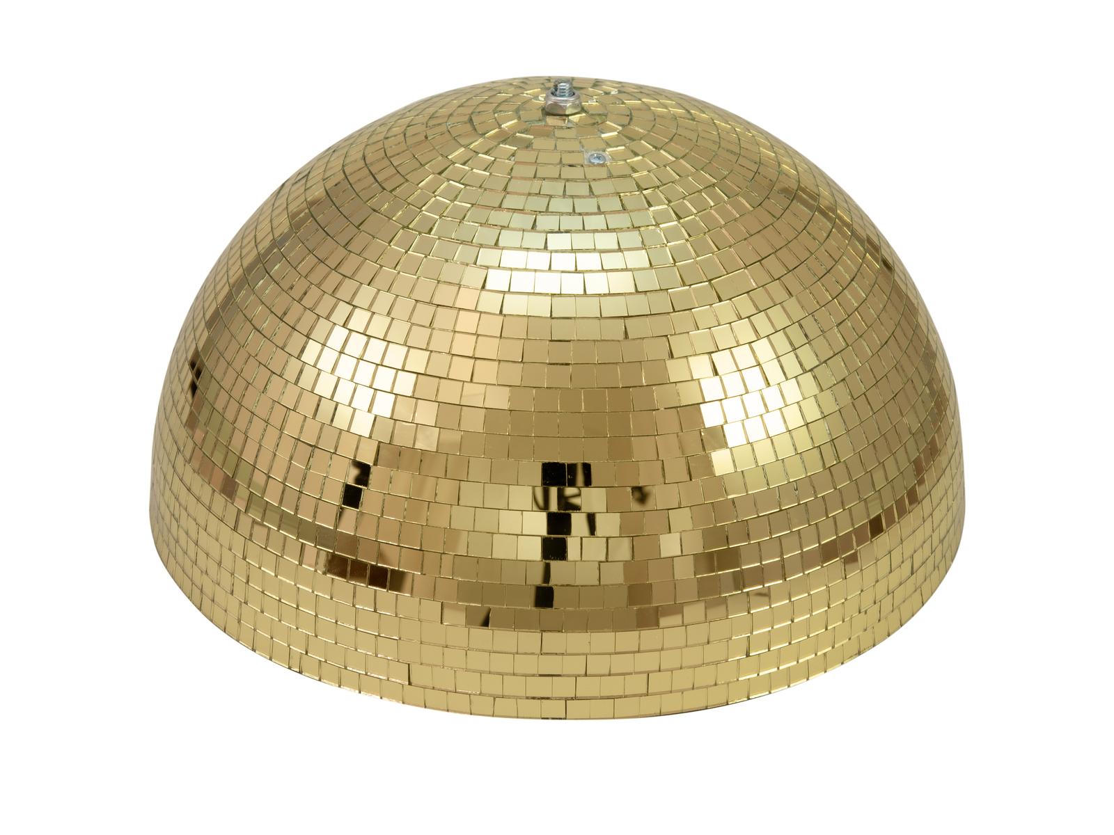 EUROLITE Motorizovaná disko polokoule, průměr 40 cm, zlatá