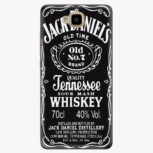 Plastový kryt iSaprio - Jack Daniels - Huawei Y6 Pro