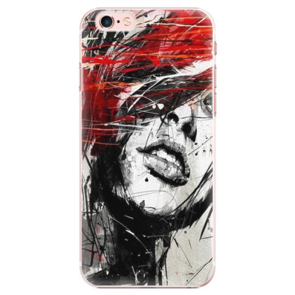Plastové pouzdro iSaprio - Sketch Face - iPhone 6 Plus/6S Plus