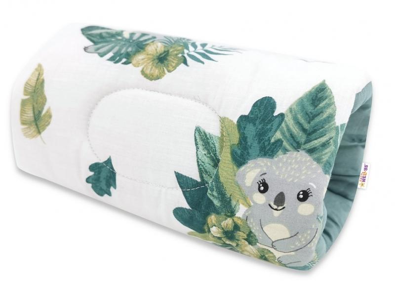 Baby Nellys Kojící polštář na ruku, Tropical Koala - zelená, bílá
