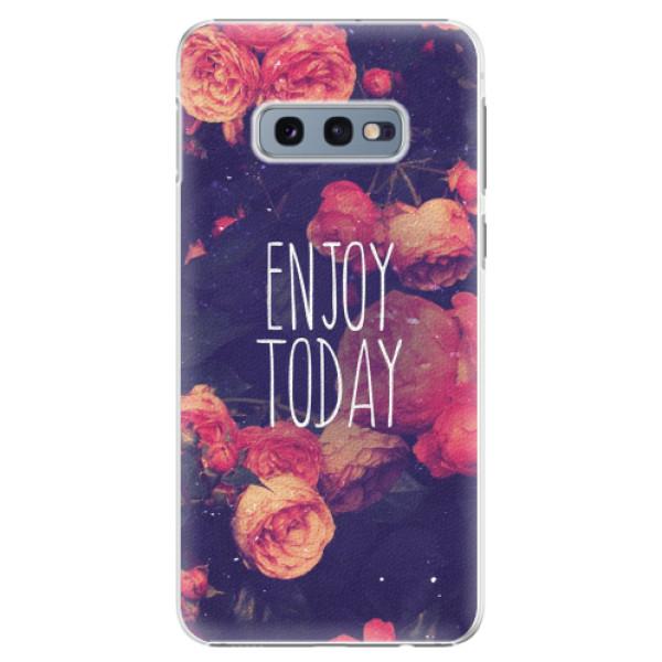 Plastové pouzdro iSaprio - Enjoy Today - Samsung Galaxy S10e