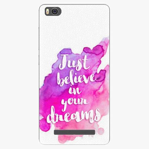 Plastový kryt iSaprio - Believe - Xiaomi Mi4C