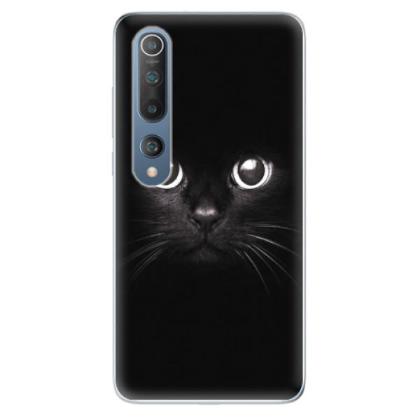 Odolné silikonové pouzdro iSaprio - Black Cat - Xiaomi Mi 10 / Mi 10 Pro