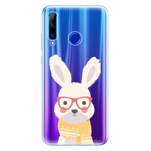 Silikonové pouzdro iSaprio - Smart Rabbit - Huawei Honor 20 Lite