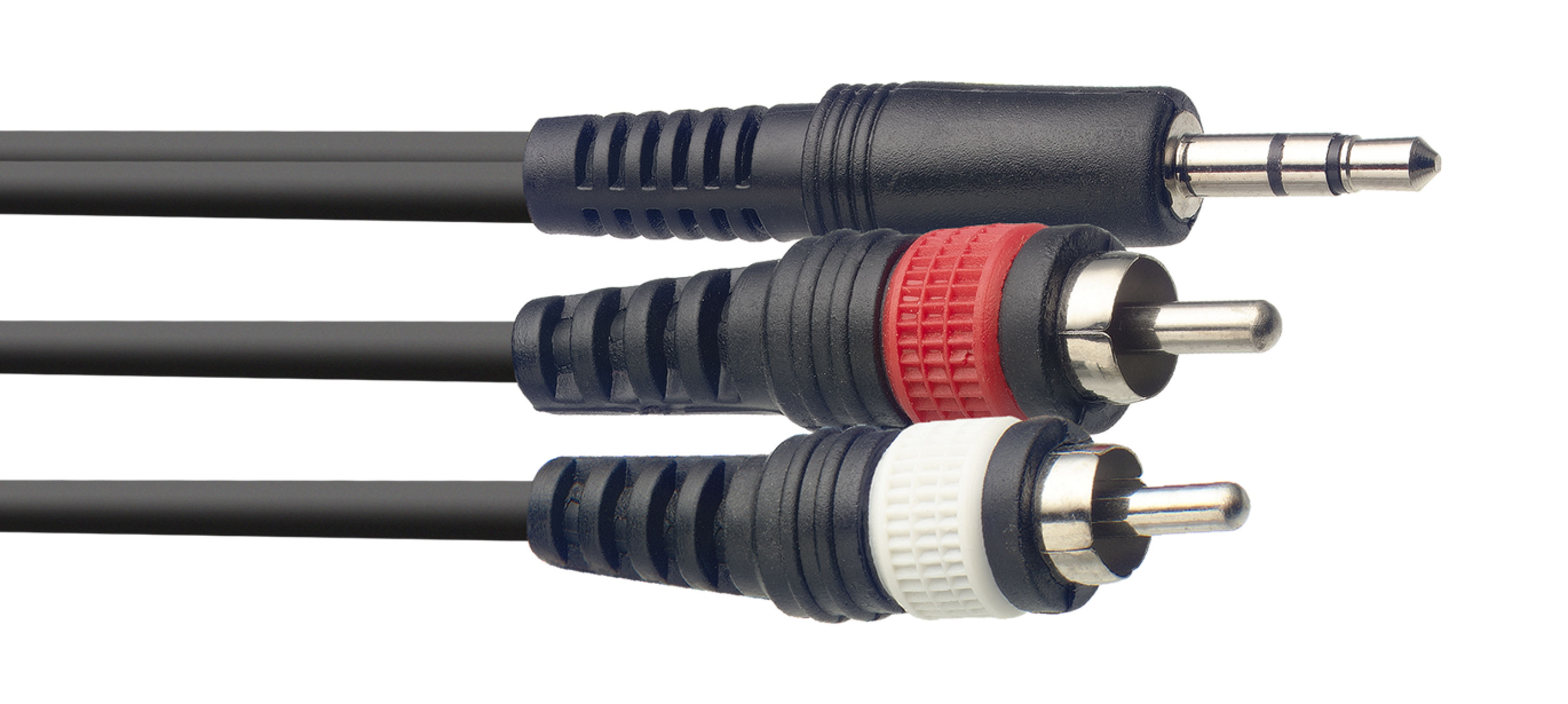 Stagg SYC6/MPS2CM E, kabel mini stereo JACK/2x RCA, 6m