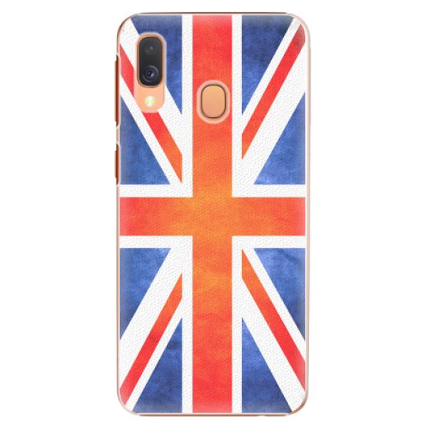 Plastové pouzdro iSaprio - UK Flag - Samsung Galaxy A40