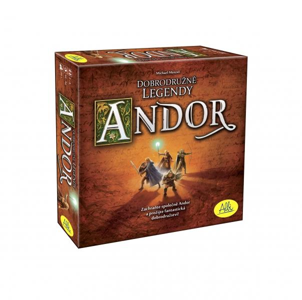 ALBI Andor - dobrodružné legendy
