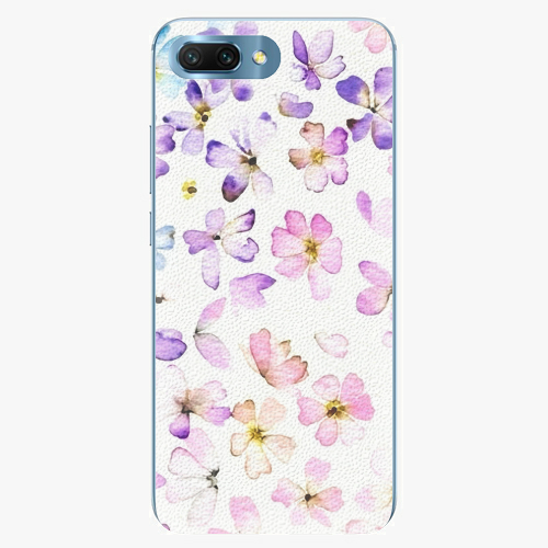 Silikonové pouzdro iSaprio - Wildflowers - Huawei Honor 10