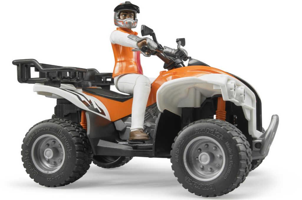 BRUDER 63000 Auto terénní čtyřkolka s řidičem model 1:16