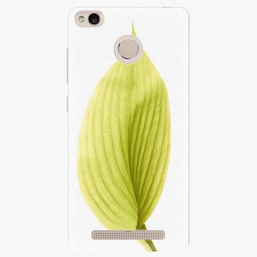 Plastový kryt iSaprio - Green Leaf - Xiaomi Redmi 3S