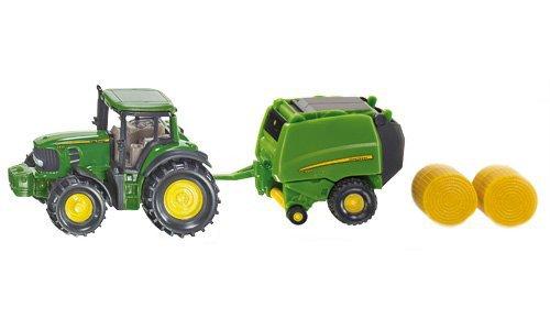 SIKU traktor John Deere balíkovač