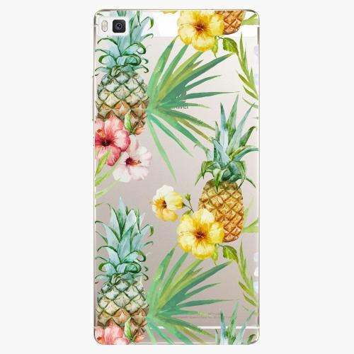 Plastový kryt iSaprio - Pineapple Pattern 02 - Huawei Ascend P8