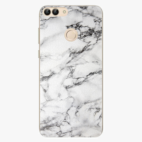 Plastový kryt iSaprio - White Marble 01 - Huawei P Smart