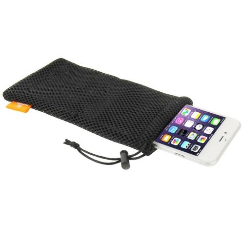 Univerzální pouzdro / kapsa na mobil Nylon Haweel černá