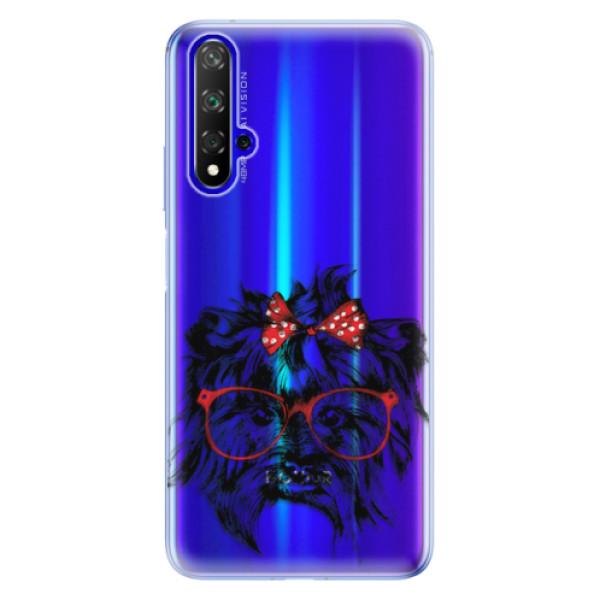Odolné silikonové pouzdro iSaprio - Dog 03 - Huawei Honor 20