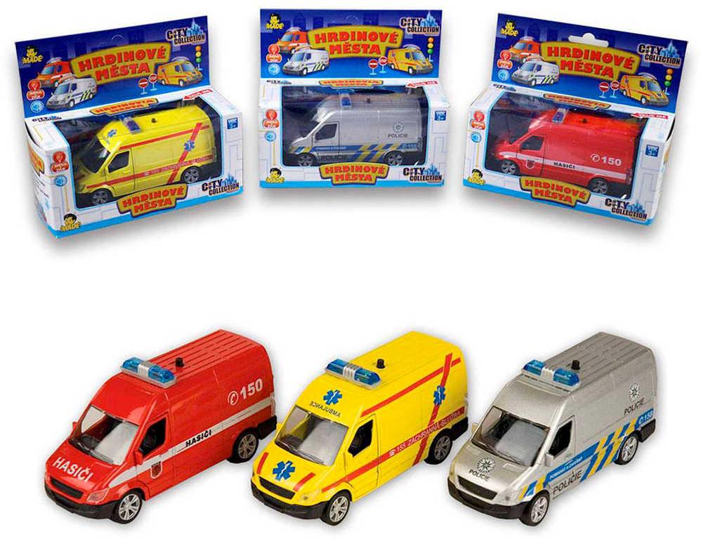 Auto City Collection záchranné složky - 3 druhy