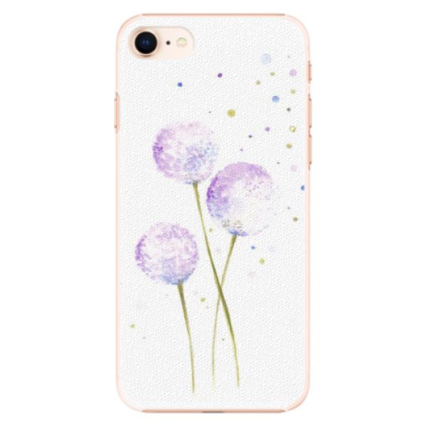 Plastové pouzdro iSaprio - Dandelion - iPhone 8