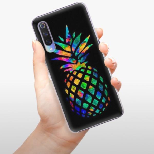 Plastové pouzdro iSaprio - Rainbow Pineapple - Xiaomi Mi 9
