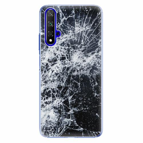 Plastový kryt iSaprio - Cracked - Huawei Honor 20