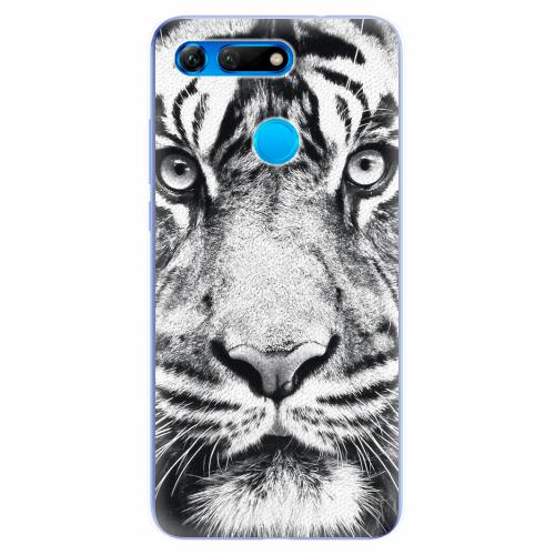 Silikonové pouzdro iSaprio - Tiger Face - Huawei Honor View 20