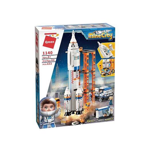 Stavebnice Qman MineCity 1140 Start vesmírné rakety