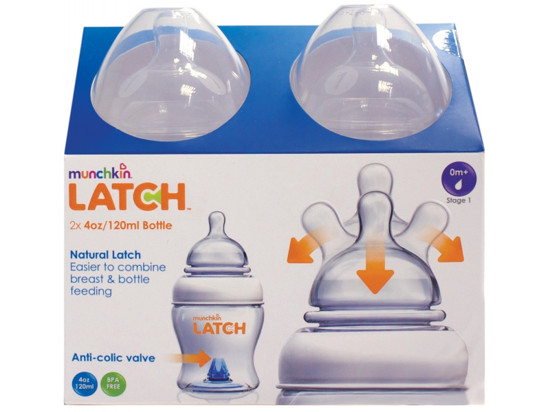Munchkin Latch - Kojenecká lahev 120ml, 2ks