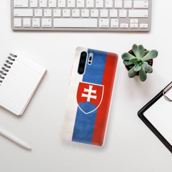 Odolné silikonové pouzdro iSaprio - Slovakia Flag - Huawei P30 Pro