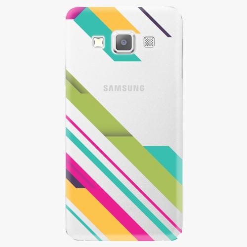 Plastový kryt iSaprio - Color Stripes 03 - Samsung Galaxy A3
