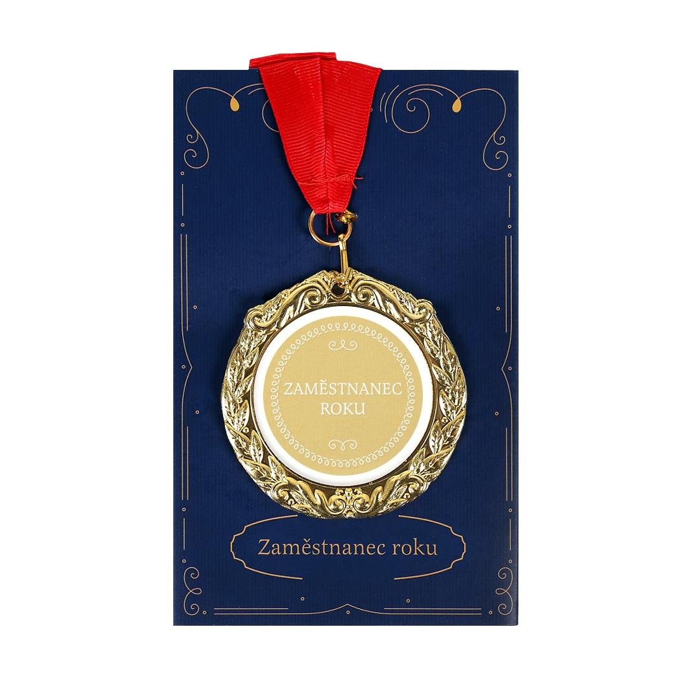 Přání s medailí - Zaměstnanec roku