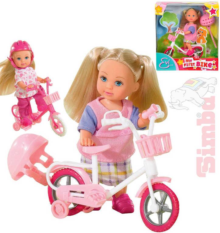 SIMBA Evička panenka na kole set s doplňky 4 druhy