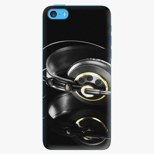 Plastový kryt iSaprio - Headphones 02 - iPhone 5C