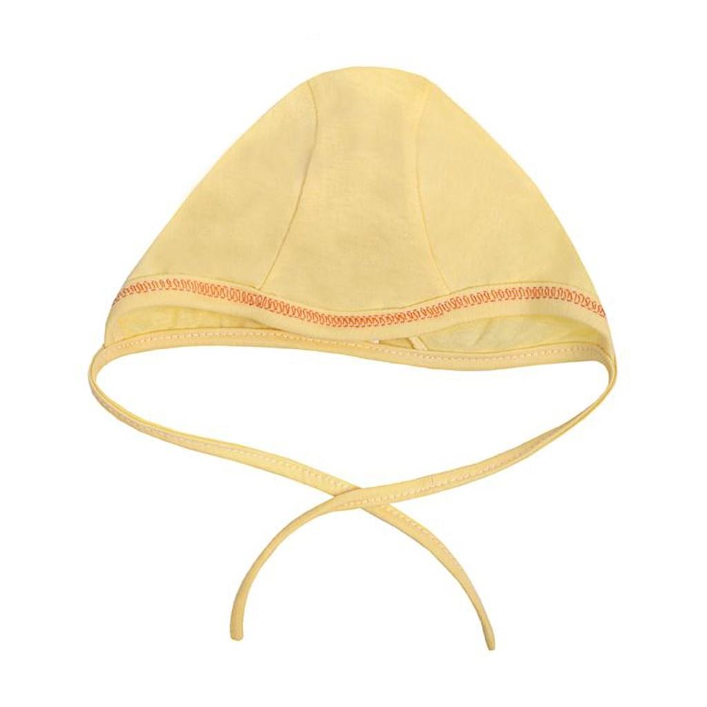 Kojenecká čepička New Baby - žlutá/56 (0-3m)