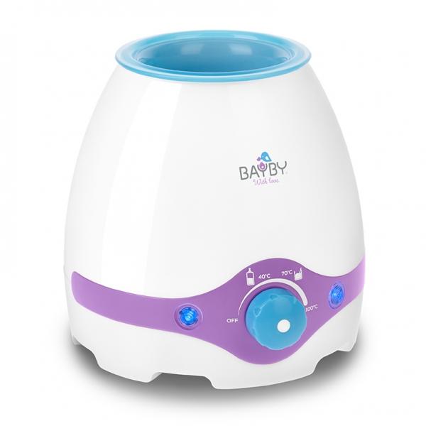 Multifunkční ohřívač kojeneckých láhví a sterilizátor 3v1