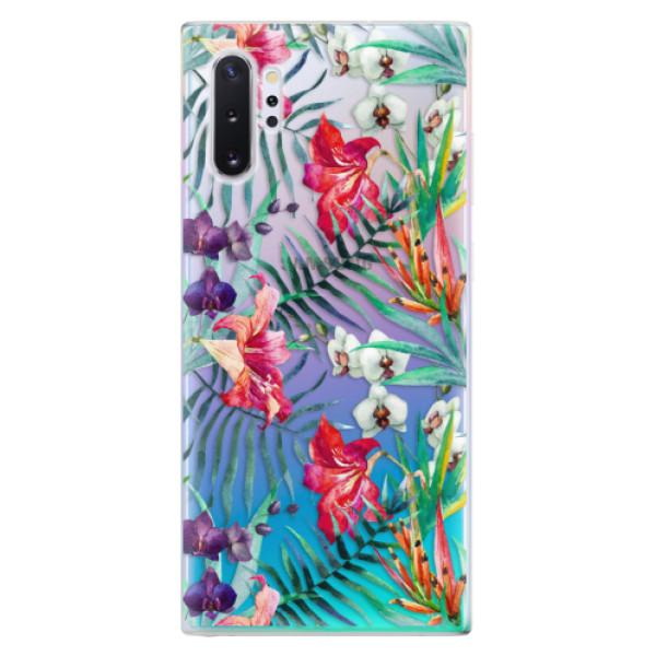 Odolné silikonové pouzdro iSaprio - Flower Pattern 03 - Samsung Galaxy Note 10+