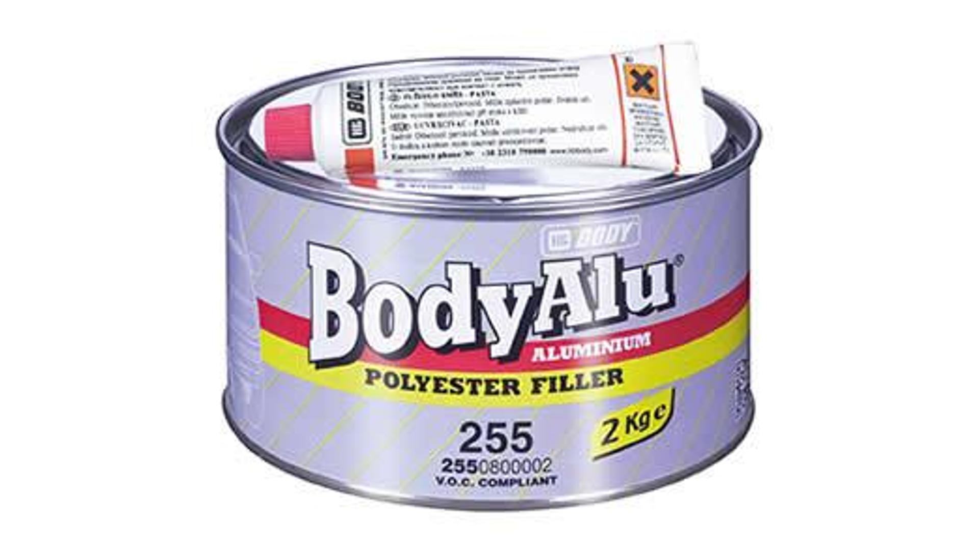 HB BODY ALU F255 - tmel s hliníkem 1kg
