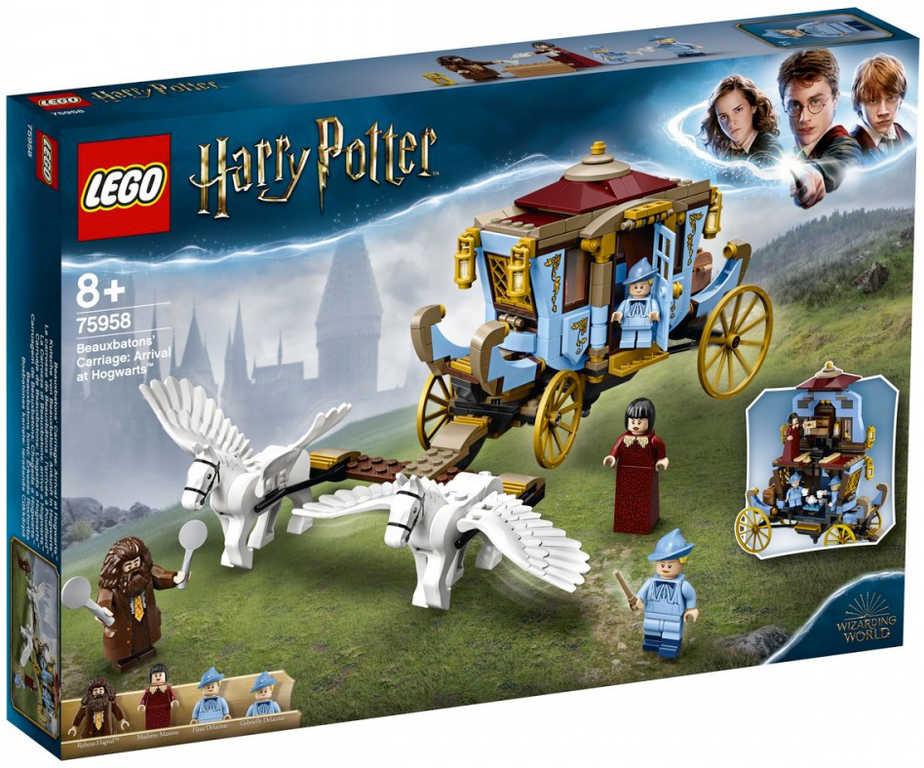 LEGO HARRY POTTER Kočár z Krásnohůlek: Příjezd do Bradavic 75958 STAVEBNICE