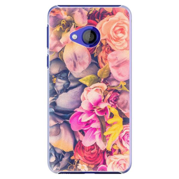 Plastové pouzdro iSaprio - Beauty Flowers - HTC U Play